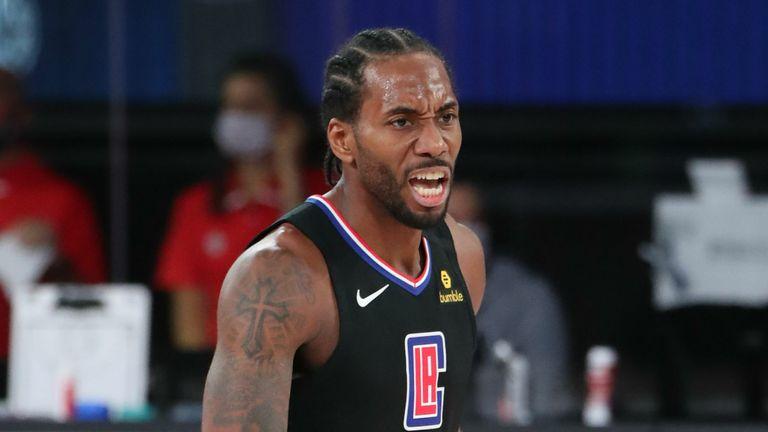 Kawhi Leonard of the LA Clippers