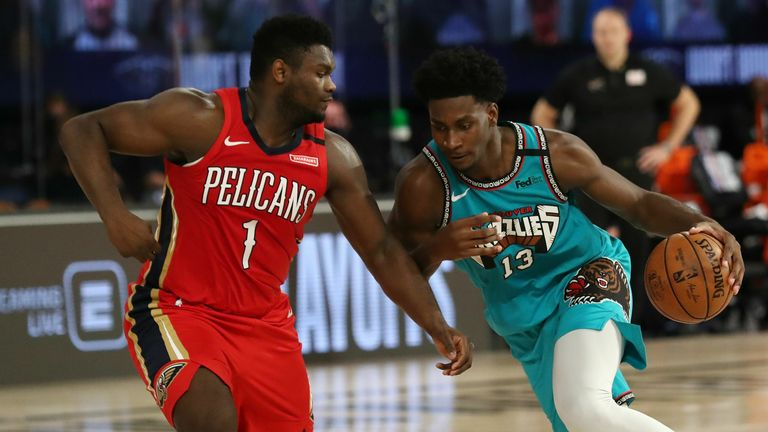 Memphis Grizzlies and the New Orleans Pelicans