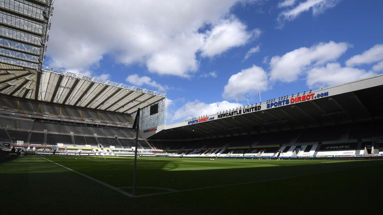 Newcastle United general view
