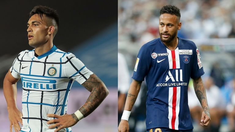 Lautaro Martinez and Neymar are top of Barcelona's summer targets but the club are unlikely to spend big