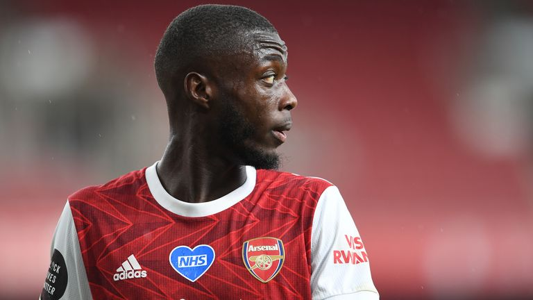 Nicolas Pepe's £72m move in 2019 was not a reason for Raul Sanllehi leaving Arsenal