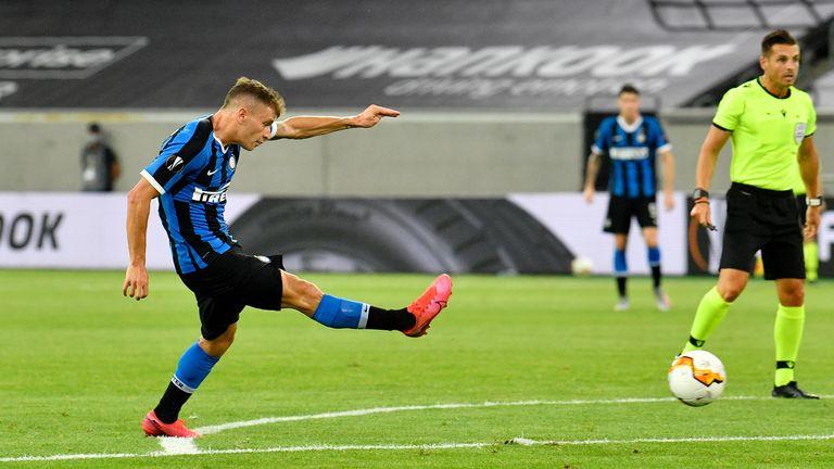 Nicolo Barella strokes Inter Milan into the lead on Monday night