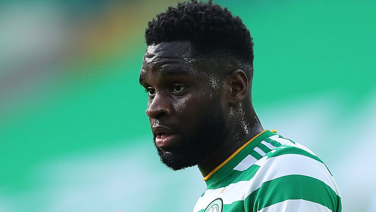 Odsonne Edouard was ruled out for Celtic's defeat against Ferencvaros