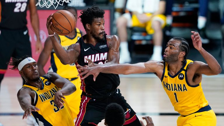Indiana Pacers and the Miami Heat
