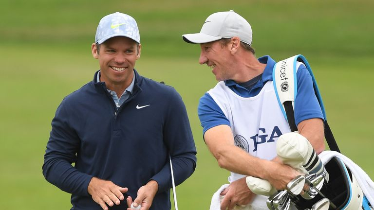 Casey is glad to have John McLaren back on his bag