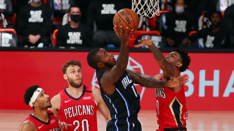 New Orleans Pelicans and the Orlando Magic
