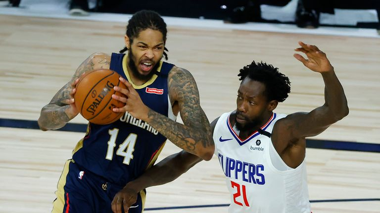New Orleans Pelicans and the LA Clippers