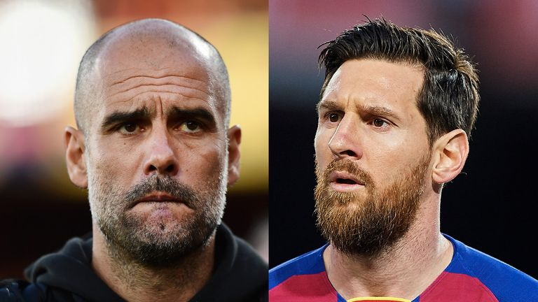 Messi could be headed to Manchester City to reunite with former manager Pep Guardiola