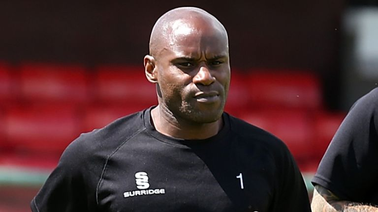 Frank Sinclair started working with Port Vale in March