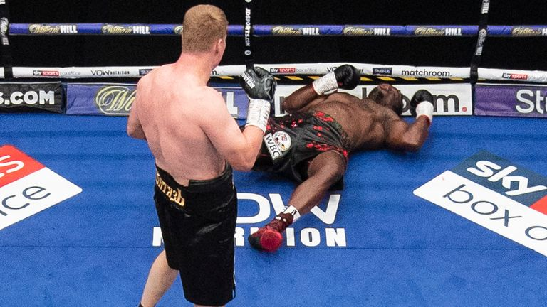 Povetkin KO'd Whyte in the fifth round
