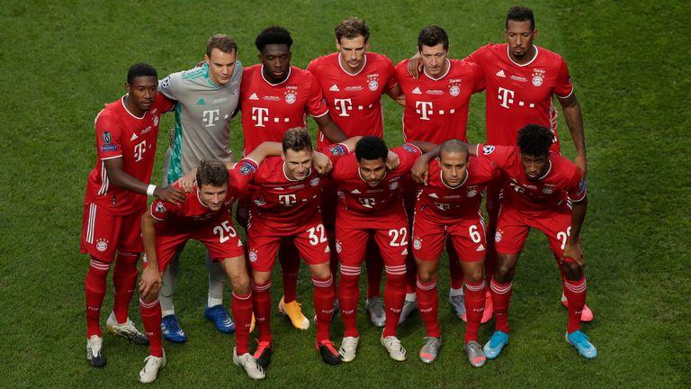 Bayern Munich Champions League final XI