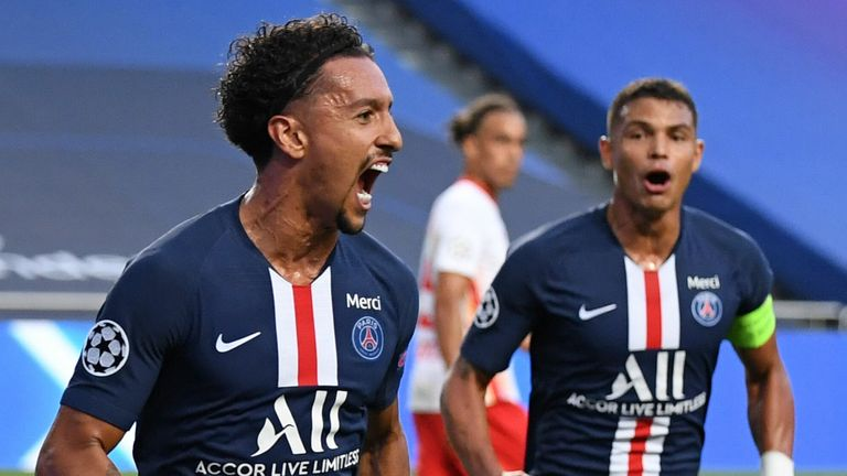 Paris Saint-Germain booked their place in the Champions League final