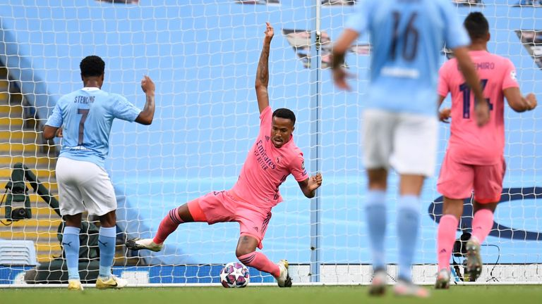 Sterling has now scored six goals in eight Champions League games this season
