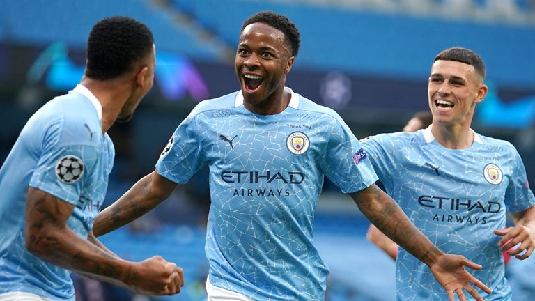 Sterling is the first Englishman to reach 100 goals for City since Dennis Tueart in 1981