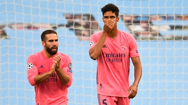 Raphael Varane made two howlers to gift City goals