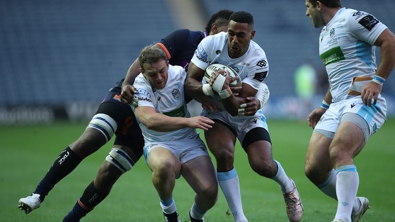 Glasgow's Ratu Tagive has recovered from injury to join the Scotland squad