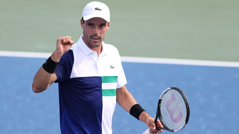 Bautista Agut will face Novak Djokovic for a place in the final