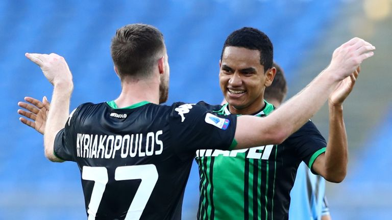 Rogerio has scored two goals in 65 appearances since joining Sassuolo in 2017