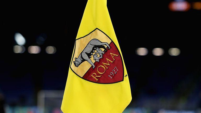 Roma corner flag