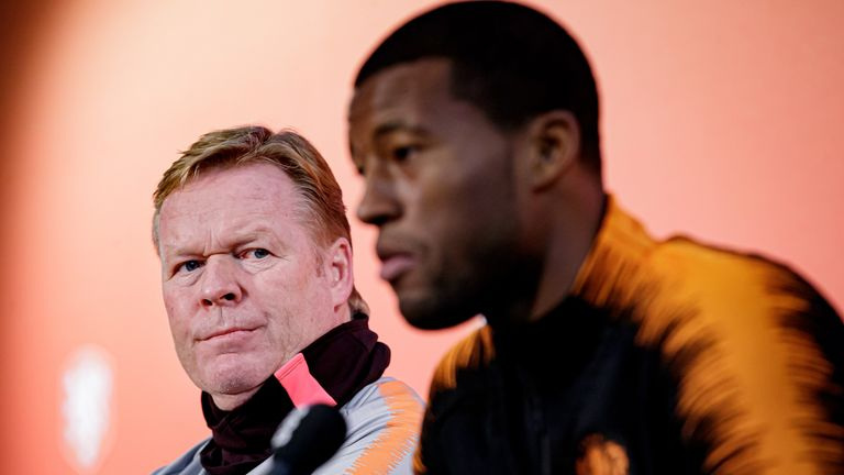 Ronald Koeman reportedly wants Wijnaldum to join him at the Nou Camp