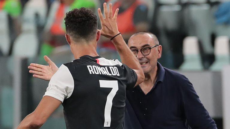 Sarri's man-management of Cristiano Ronaldo came under scrutiny despite the forward's 31 Serie A goals
