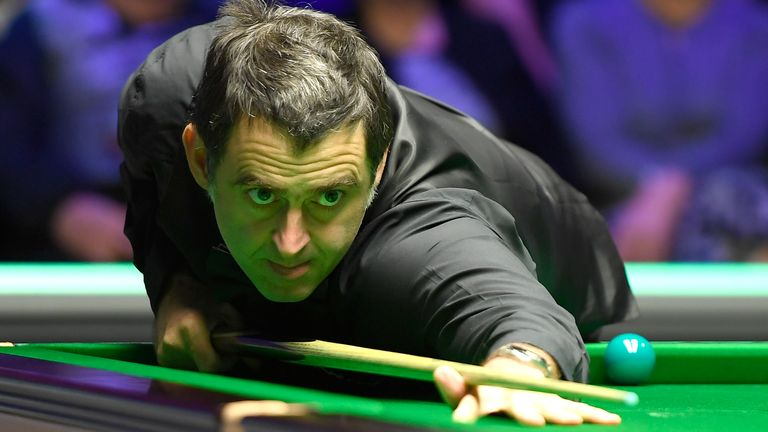 O'Sullivan made some uncharacteristic mistakes on the green baize