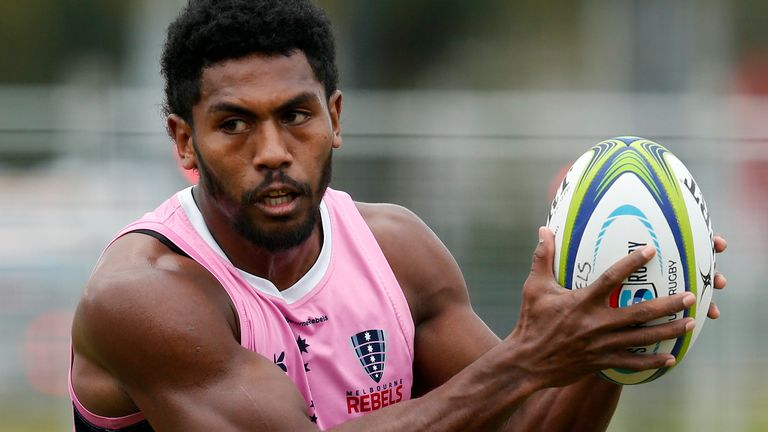 Frank Lomani comes into the Rebels' starting line-up