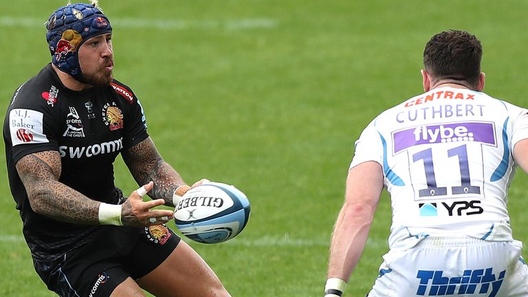 Jack Nowell says the Chiefs are targeting a trophy double to close out the 2020 season