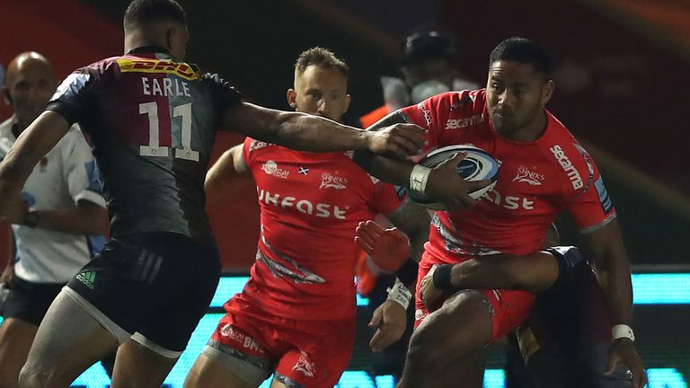Manu Tuilagi switches to inside centre for his home debut