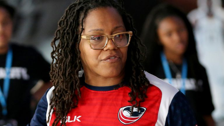 Phaidra Knight played at three Rugby World Cups and is now forging a career in MMA