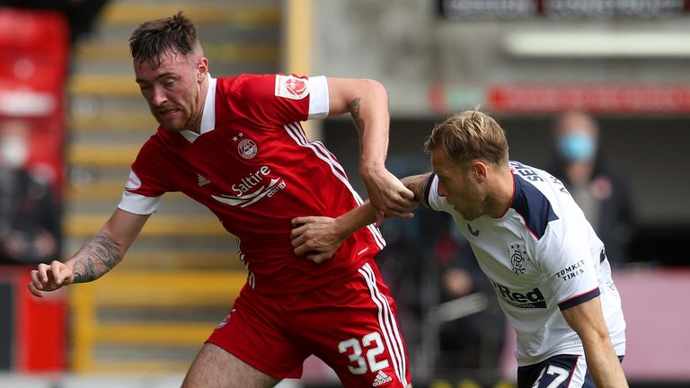 Ryan Edmondson came off the bench in the defeat to Rangers earlier this month