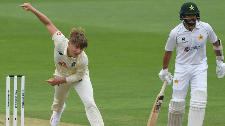 Sam Curran is playing his second Test of the summer