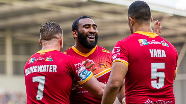 Catalans Dragons are the league leaders in the revised Super League table
