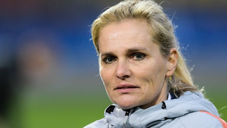 Sarina Wiegman has signed a four-year deal and will take charge after the postponed Tokyo Olympics next summer