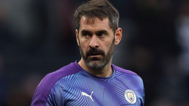 Manchester City on-loan goalkeeper Scott Carson