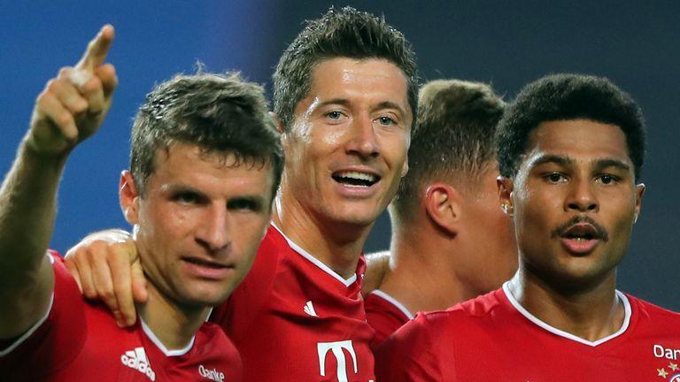 Robert Lewandowski and a Serge Gnabry double put Bayern Munich into the Champions League final
