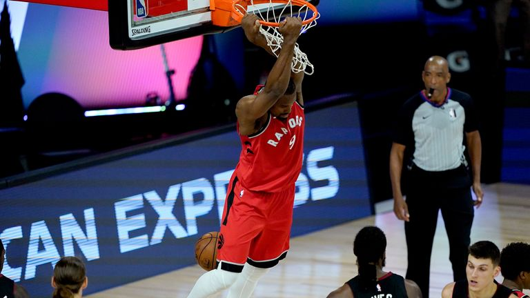 Raptors cemented their hold on second sport in the Eastern Conference with a sixth successive win