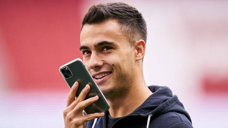 Sergio Reguilon spent last season on loan at Sevilla