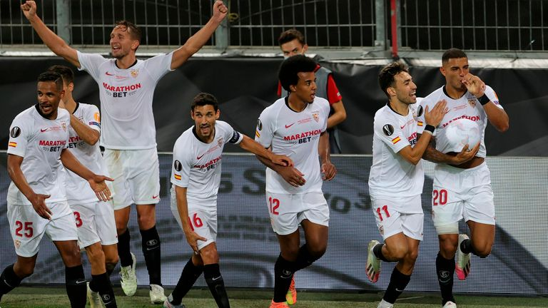 Sevilla have won the Europa League for the sixth time