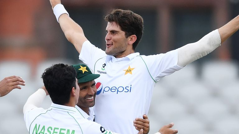 Shaheen Afridi has taken just three wickets so far in the series but has shown glimpses of his talent