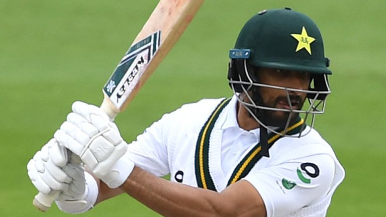 Masood passed 150 for the first time in his Test career