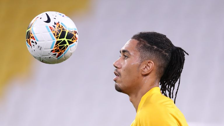 Chris Smalling on loan at Roma