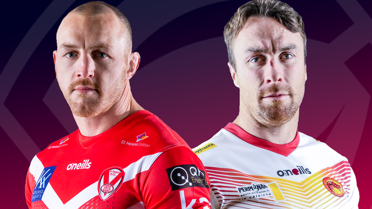 St Helens and Catalans Dragons kick off Super League's return on Sunday