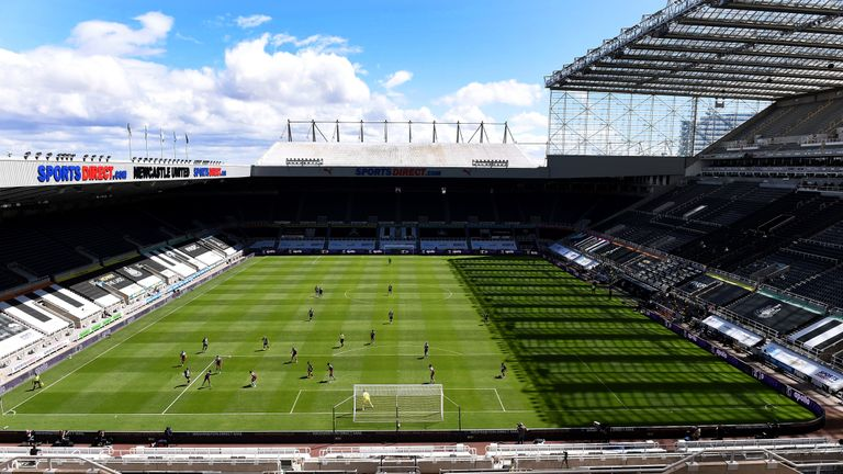 St James' Park - GV - Newcastle