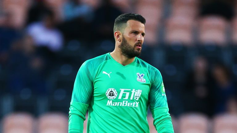 Stephen Henderson is yet to play for Palace's first team but is ready to be called upon if needed