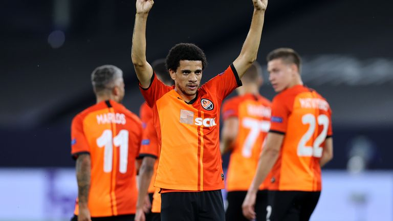 Shakhtar will hope their Brazilian contingent sparkles against Inter Milan