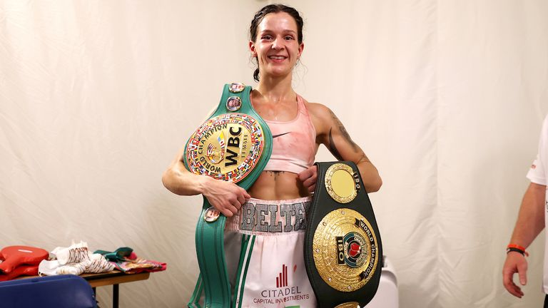 Harper is the WBC super-featherweight champion