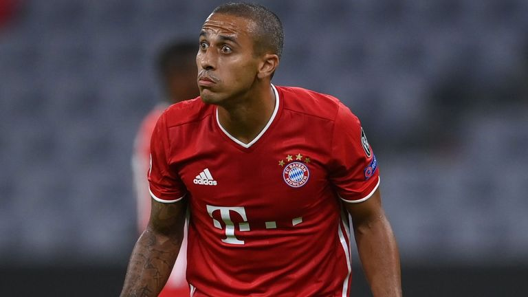 Reported Liverpool target Thiago looked impressive for Bayern against Chelsea