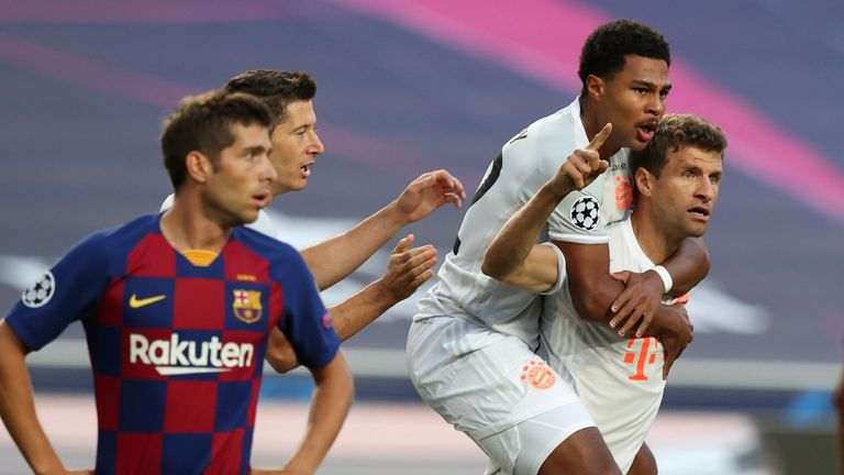 Serge Gnabry and Thomas Muller will provide a potent threat to Lyon