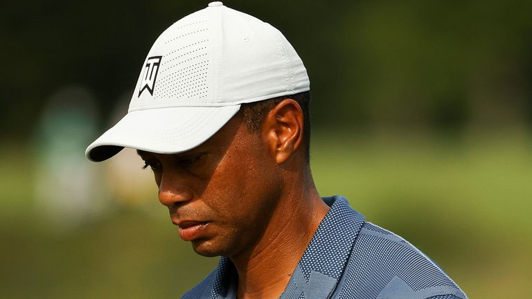 Woods started the week 49th in the FedExCup standings